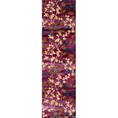 Loft Purple Area Rug Rug Size: Runner 2 x 8