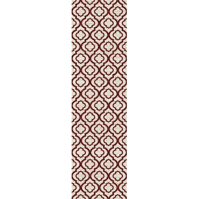Elite Soft Red Area Rug Rug Size: Runner 2 x 72