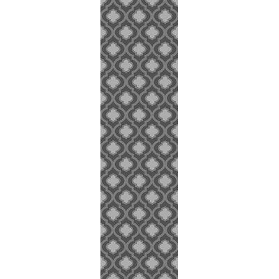 Elite Soft Dark/Gray Area Rug Rug Size: Runner 2 x 72