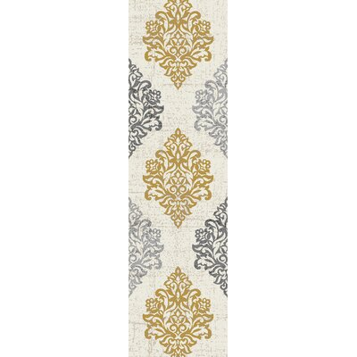 Elite Soft Yellow Area Rug Rug Size: Runner 2 x 72
