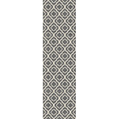 Elite Soft Gray Area Rug Rug Size: Runner 2 x 72