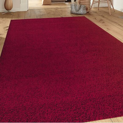 Florida Red Area Rug Rug Size: Rectangle 33 x 5
