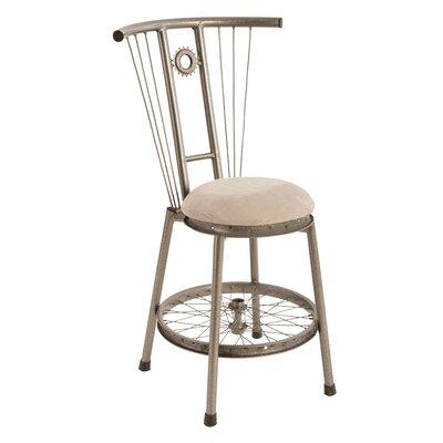 Bicycle Rim Metal Side Chair