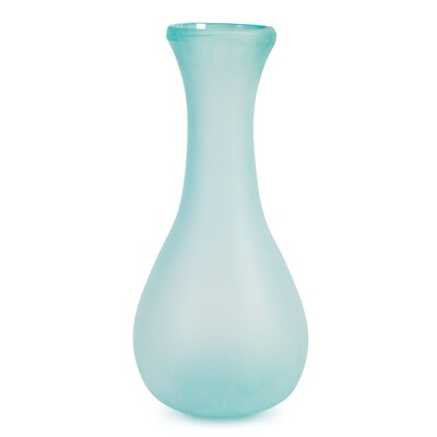 Charron Frosted Floor Vase