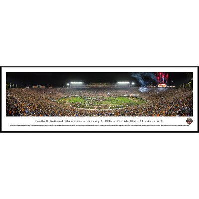 NCAA BCS Football Championship 2014 by James Blakeway Framed Photographic Print BCS14F