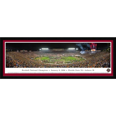 NCAA BCS Football Championship 2014 by James Blakeway Framed Photographic Print BCS14M
