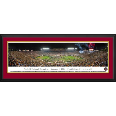 NCAA BCS Football Championship 2014 by James Blakeway Framed Photographic Print BCS14D