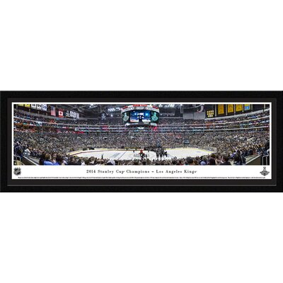 NHL 2014 Stanley Cup Champions - Los Angeles Kings by Christopher Gjevre Framed Photographic Print NHLSC14M