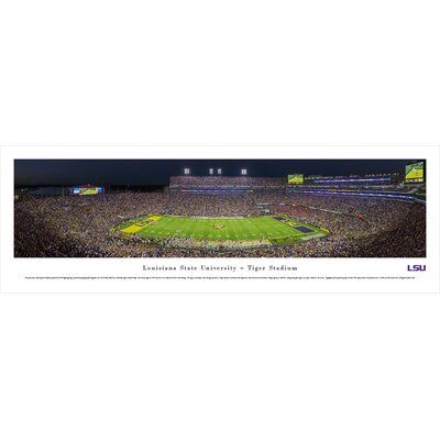 NCAA Louisiana State University by James Blakeway Photographic Print LSU4