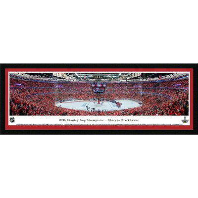 NHL 2015 Stanley Cup Champions - Chicago Blackhawks by Christopher Gjevre Framed Photographic Print NHLSC15M