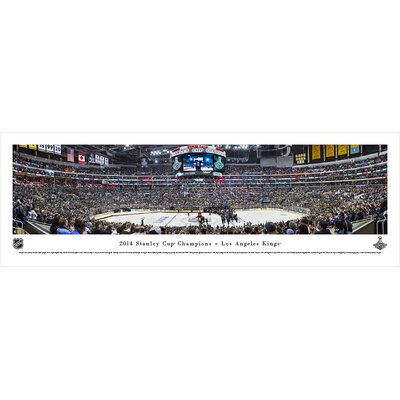 NHL 2014 Stanley Cup Champions - Los Angeles Kings by Christopher Gjevre Photographic Print NHLSC14