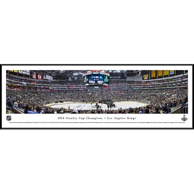 NHL 2014 Stanley Cup Champions - Los Angeles Kings by Christopher Gjevre Framed Photographic Print NHLSC14F