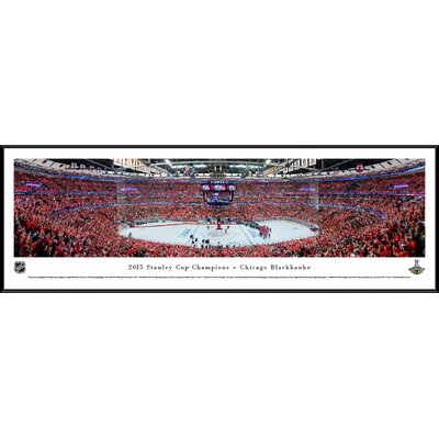 NHL 2015 Stanley Cup Champions - Chicago Blackhawks by Christopher Gjevre Framed Photographic Print NHLSC15F