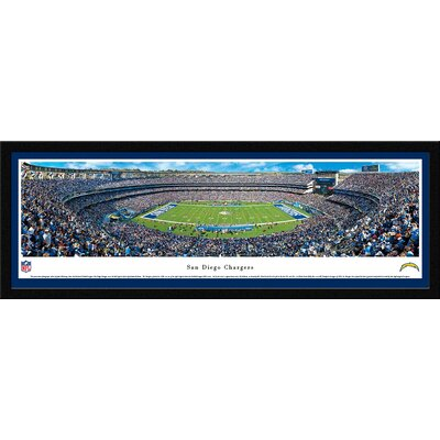 NFL San Diego Chargers by James Blakeway Framed Photographic Print NFLCHG1M