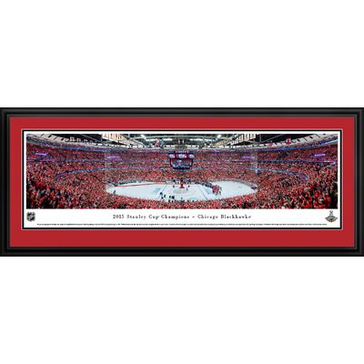 NHL 2015 Stanley Cup Champions - Chicago Blackhawks by Christopher Gjevre Framed Photographic Print NHLSC15D