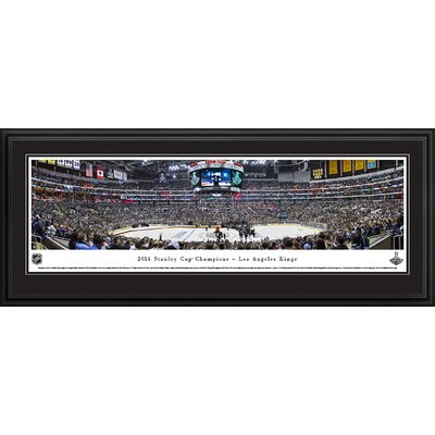 NHL 2014 Stanley Cup Champions - Los Angeles Kings by Christopher Gjevre Framed Photographic Print NHLSC14D