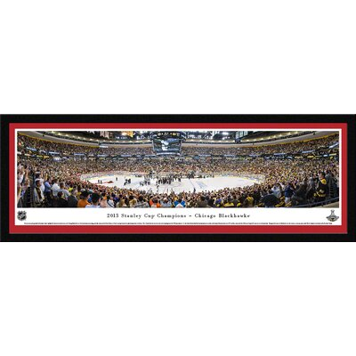 NHL 2013 Stanley Cup Champions - Chicago Blackhawks by Christopher Gjevre Framed Photographic Print NHLSC13M