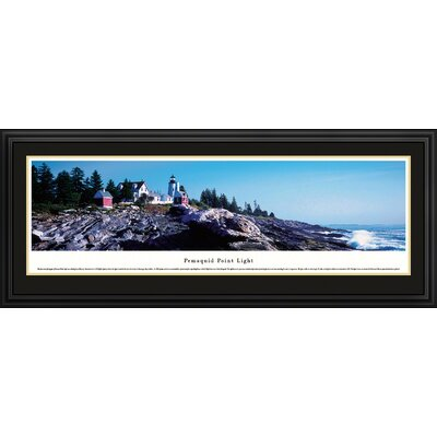 Pemaquid Point Light by James Blakeway Framed Photographic Print