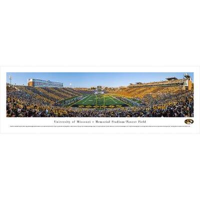 NCAA Missouri, University of - Football End Zone by Robert Pettit Photographic Print