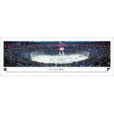 NHL St. Louis Blues Center Ice Photographic Print NHLBLU3