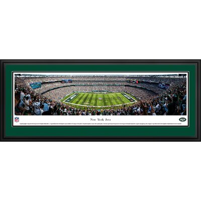 NFL New York Jets 50 Yard Line Framed Photographic Print NFLJET3D