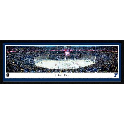 NHL St. Louis Blues Center Ice Framed Photographic Print NHLBLU3M
