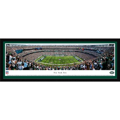 NFL New York Jets 50 Yard Line Framed Photographic Print NFLJET3M
