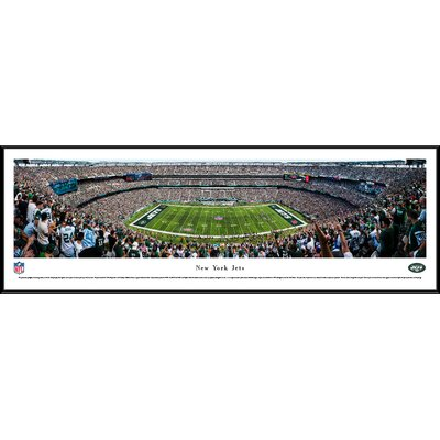 NFL New York Jets 50 Yard Line Framed Photographic Print NFLJET3F