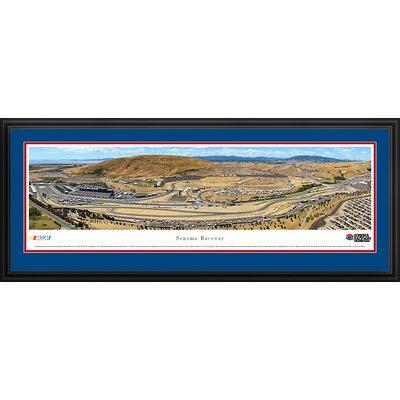 NASCAR Raceway Deluxe Framed Photographic Print NASCAR Stadium: Sonoma