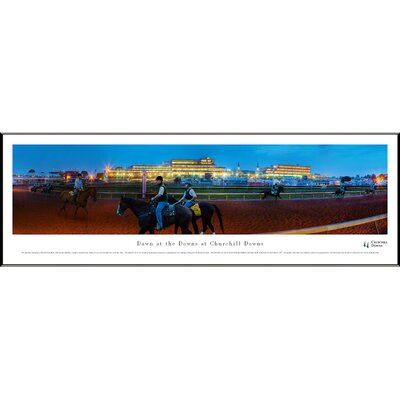 Dawn at Churchill Downsby James Blakeway Standard Framed Photographic Print