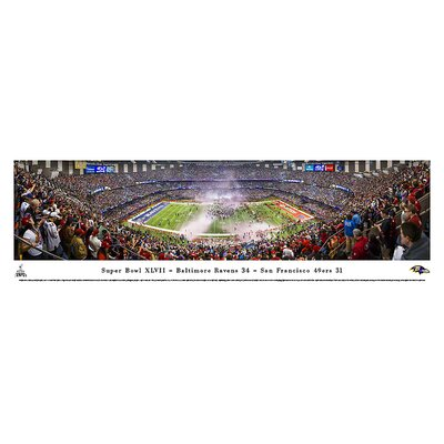 NFL Super Bowl 2013 by Christopher Gjevre Photographic Print NFLSB13