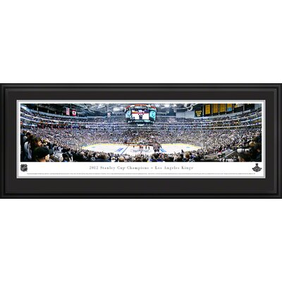 NHL 2012 Stanley Cup Champions - Los Angeles Kings Deluxe Framed Photographic Print NHLSC12D