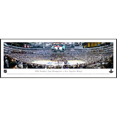 NHL 2012 Stanley Cup Champions - Los Angeles Kings Standard Framed Photographic Print NHLSC12F