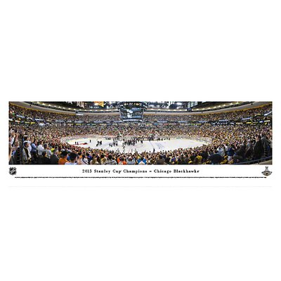 NHL 2013 Stanley Cup Champions - Chicago Blackhawks Photographic Print NHLSC13