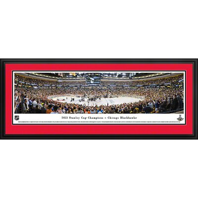 NHL 2013 Stanley Cup Champions - Chicago Blackhawks Deluxe Framed Photographic Print NHLSC13D