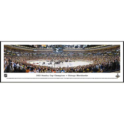 NHL 2013 Stanley Cup Champions - Chicago Blackhawks Standard Framed Photographic Print NHLSC13F