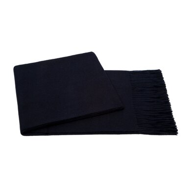 Baby Aplaca Wool Throw Color: Navy