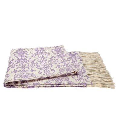 European Inspired Throw Color: Violet