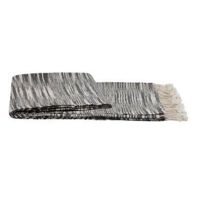 Khadi Throw Color: Charcoal Grey