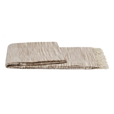 Khadi Throw Color: Beige