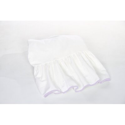 Crestline Crib Bed Skirt Color: Lavender
