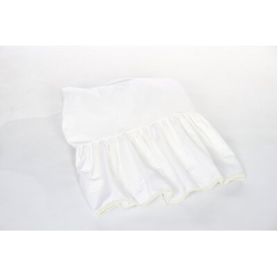 Crestline Crib Bed Skirt Color: Ivory