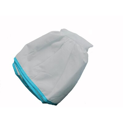 Crestline Crib Bed Skirt Color: Aqua