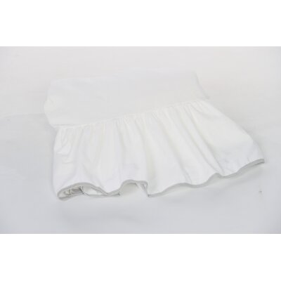 Crestline Crib Bed Skirt Color: Gray