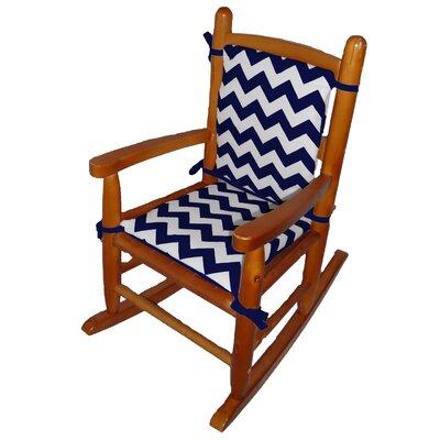 Junior Rocking Chair Cushion Fabric: Navy