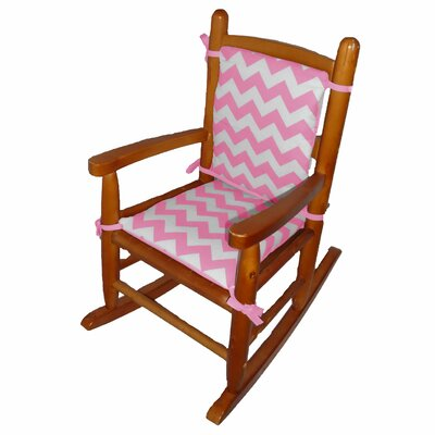 Junior Rocking Chair Cushion Fabric: Pink