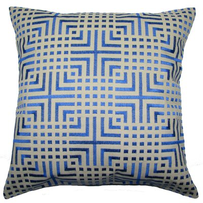 Chatai Throw Pillow Color: Blue