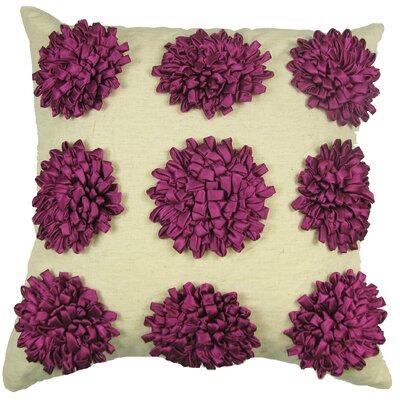 Staunton Red 100% Cotton Throw Pillow Color: Fuschia