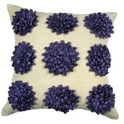 Staunton Red 100% Cotton Throw Pillow Color: Grape