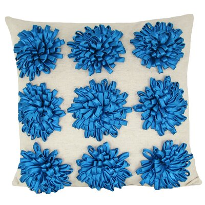 Staunton Red 100% Cotton Throw Pillow Color: Turquoise